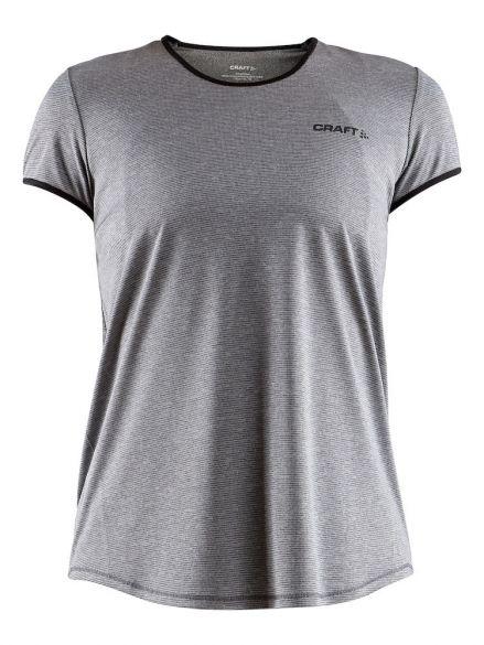 Craft Eaze short sleeve running shirt grey women  1905877-975999