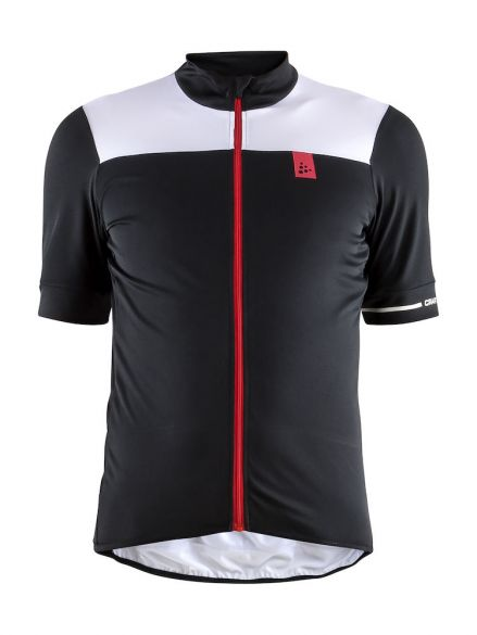 37a397ee3 Craft Point cycling jersey black white men online  Order Find it at ...