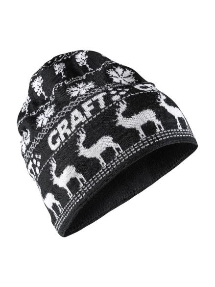 cbe2a937 Craft Retro knit hat black/white online? Find it at triathlon ...