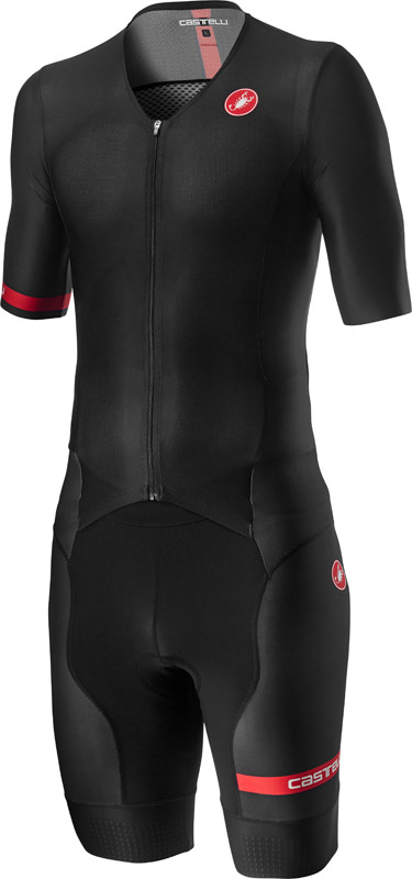 Castelli Free Sanremo 2 trisuit short sleeve black men  20092-010