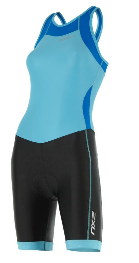 2XU X-vent Y-back Trisuit black/light blue women  WT4366dBLA/BLK