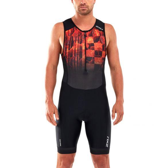 2XU Perform sleeveless trisuit black/red men  MT5526D-BLK/FOM