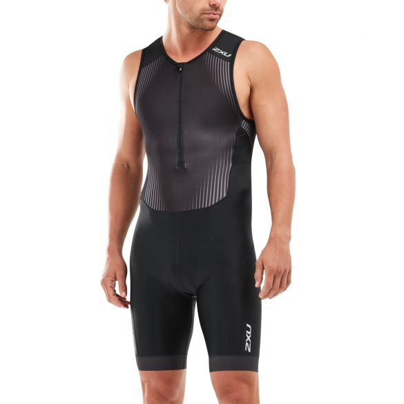 2XU Perform sleeveless trisuit black men  MT5526d-BLK/SDW