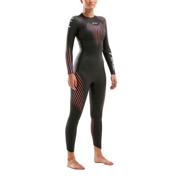 2XU P:1 Propel full sleeve wetsuit women  WW4994c-BLK/SOM