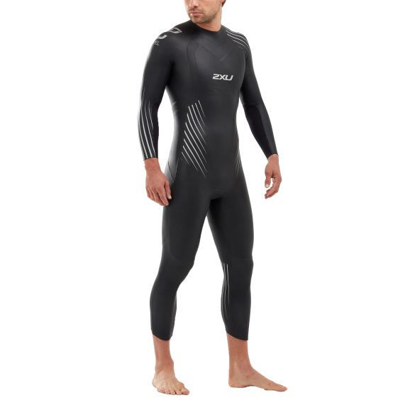 2XU P:1 Propel full sleeve wetsuit men  MW4991c-BLK/SSW