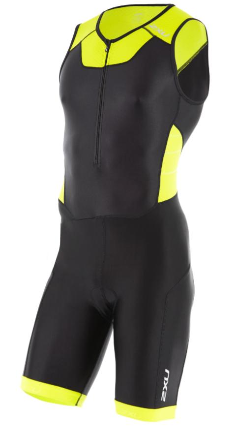 2XU X-vent Trisuit Front Zip black/yellow men  MT4354dBLK/LPU