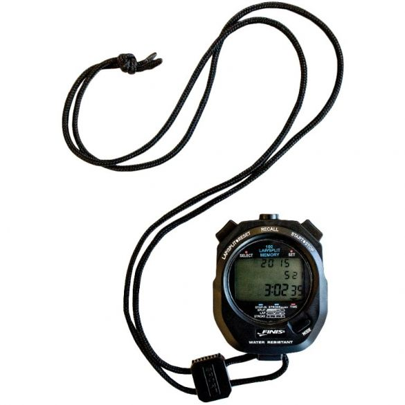 Finis 3 x 100m Stopwatch black  1.30.032