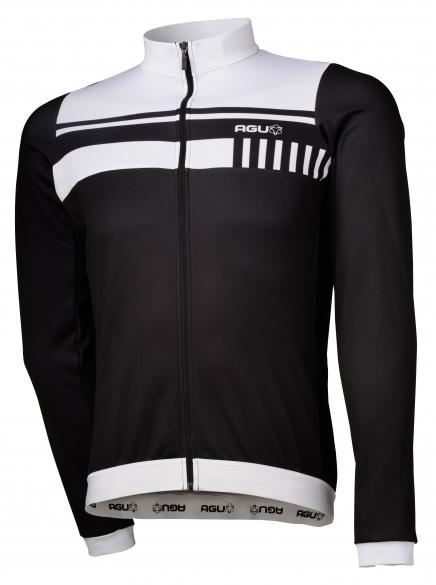 d043a4e81 Agu Naro cycling jersey long sleeve black white men online  Order ...