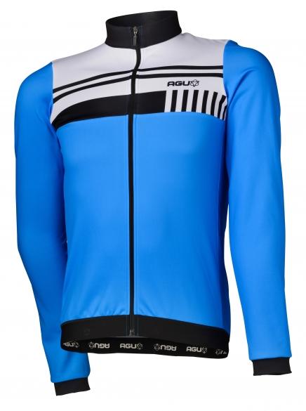 99a8ac827 Agu Naro cycling jersey long sleeve blue white men online  Order ...