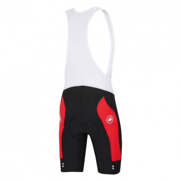 Castelli Evoluzione bibshort black/red men 14008-123  CA14008-123