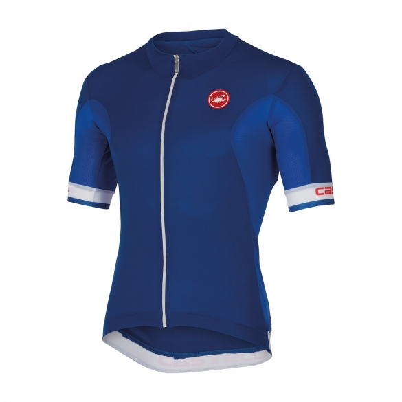 Castelli Volata jersey blue/white men 14014-057  CA14014-057