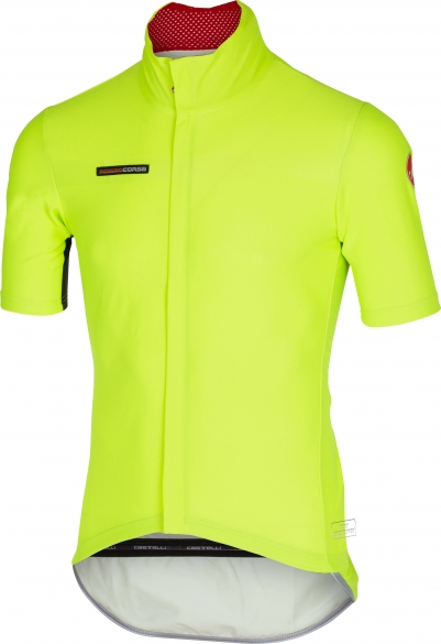 Castelli gabba 2 jacket short sleeve yellow-fluo mens 14511-032  CA14511-032