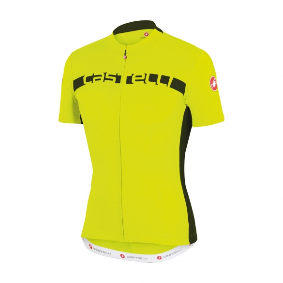 Castelli Prologo 4 jersey yellow men 15017-032  CA15017-032