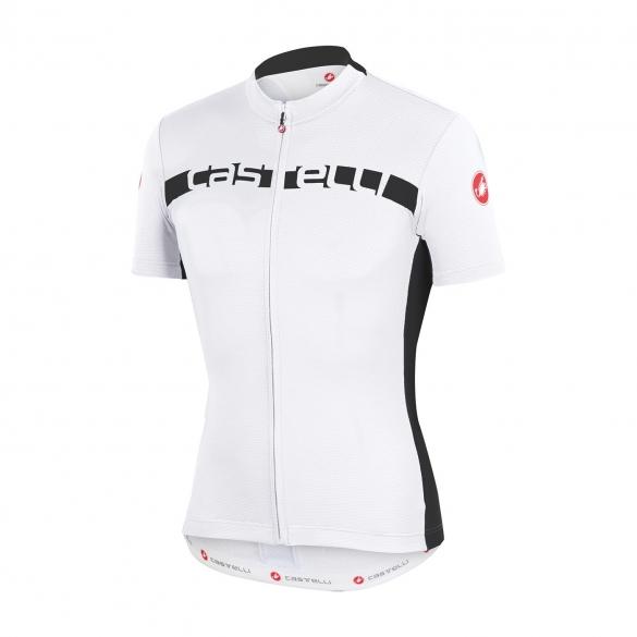 Castelli Prologo 4 jersey white/black men 15017-101  CA15017-101