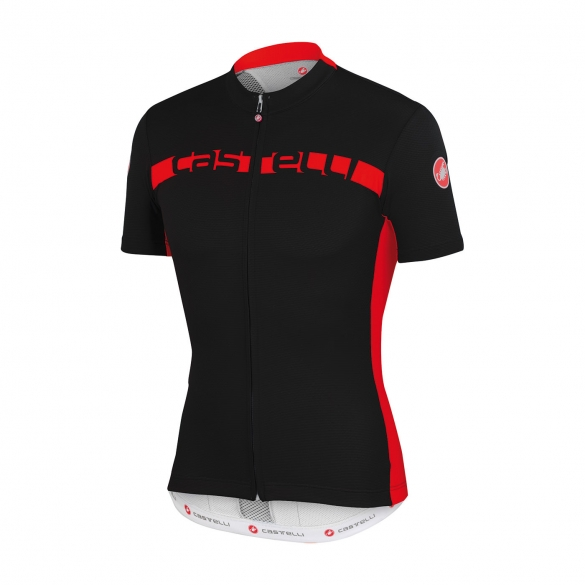 Castelli Prologo 4 jersey black/red men 15017-231  CA15017-231
