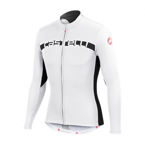Castelli Prologo 4 long sleeve jersey white men 15017-101  CA15018-101