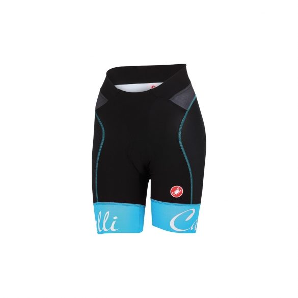 Castelli Free aero W short black/blue women 15045-067  CA15045-067