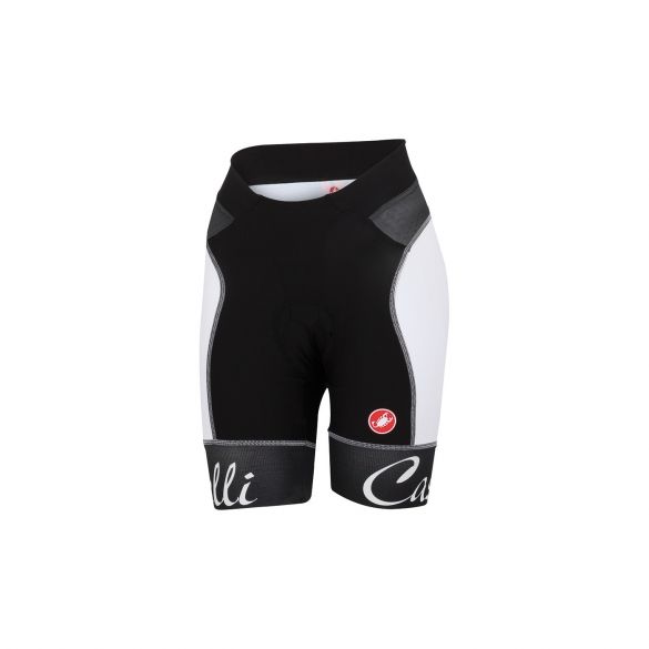 Castelli Free aero W short black/white women 15045-101  CA15045-101