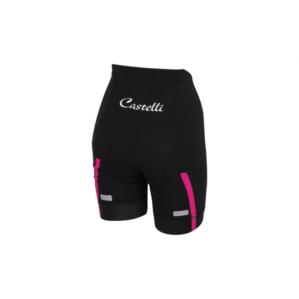 Castelli Velocissima W short black/raspberry women 15047-011  CA15047-011