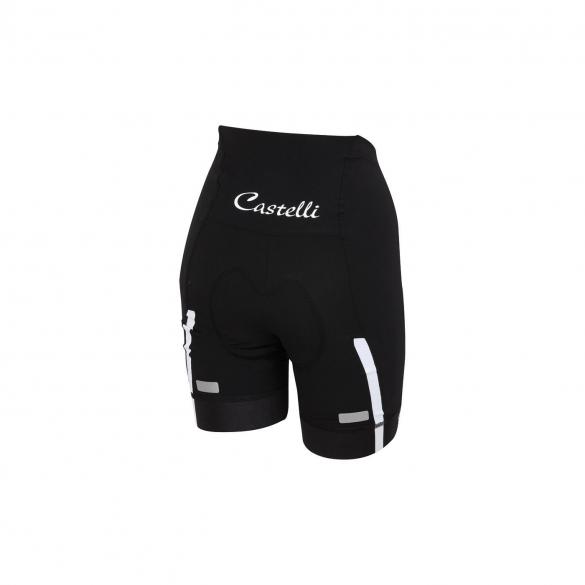 Castelli Velocissima W short black/white women 15047-101  CA15047-101