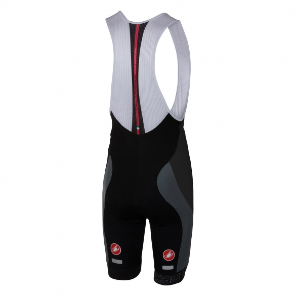 Castelli Velocissimo bibshort black/anthracite men 16003-009  CA16003-009