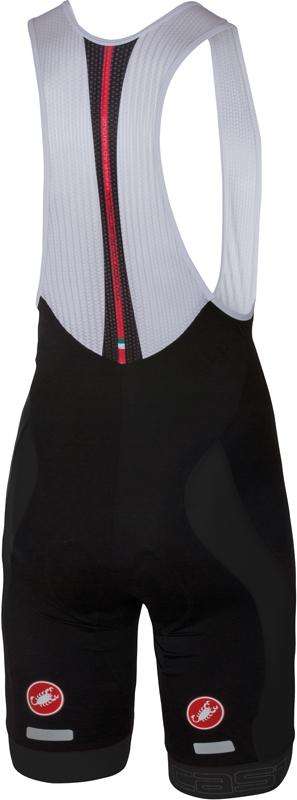 Castelli Velocissimo bibshort black men 16003-010  16003-010