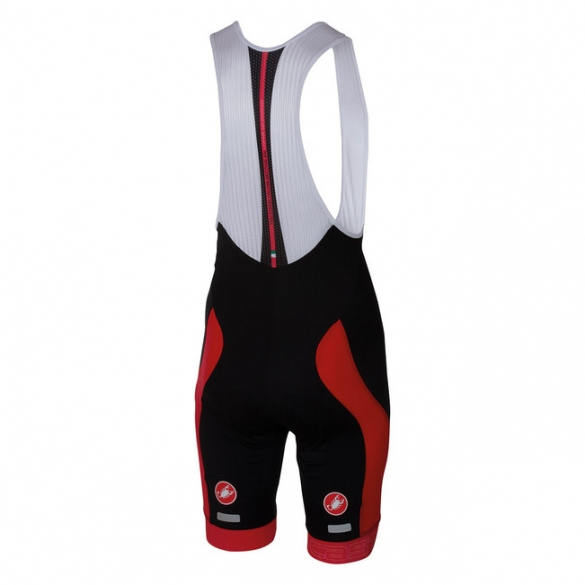 Castelli Velocissimo bibshort black/red men 16003-023  CA16003-023