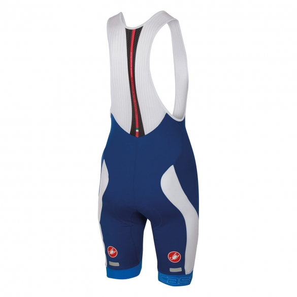 Castelli Velocissimo bibshort blue/white men 16003-057  CA16003-057
