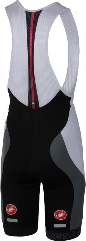 Castelli Velocissimo bibshort black/white men 16003-101  16003-101