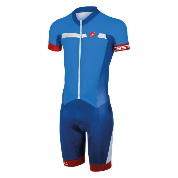 Castelli Velocissimo sanremo speedsuit blue men 16005-059  CA16005-059