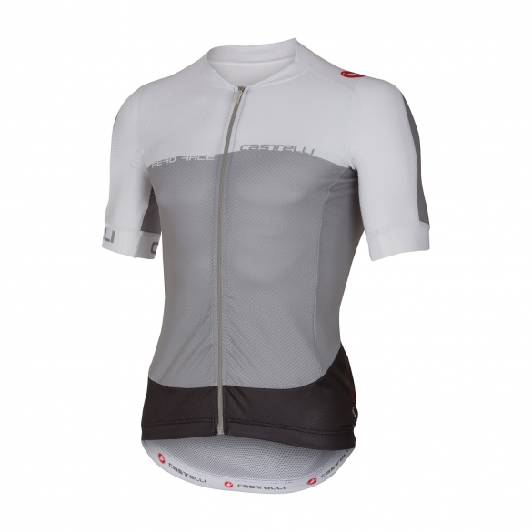 Castelli Aero race 5.1 jersey grey/white/anthracite men 16007-008  CA16007-008