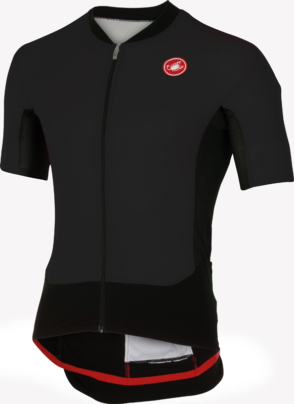 Castelli Rs superleggera jersey black men 16010-010  16010-010