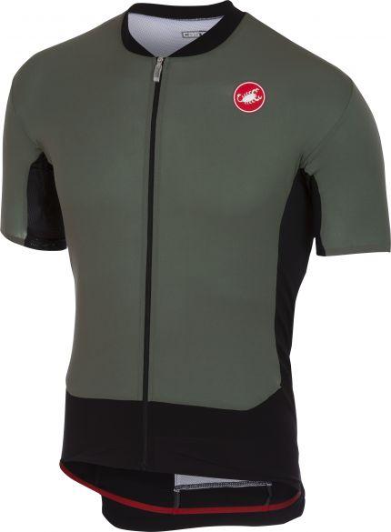 NEW Castelli STELVIO UNFAIR ADVANTAGE T-Shirt Casual Shirt FOREST GRAY