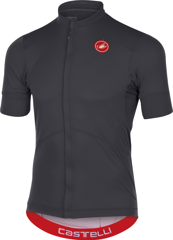 Castelli Imprevisto nano jersey anthracite men 16011-009  16011-009
