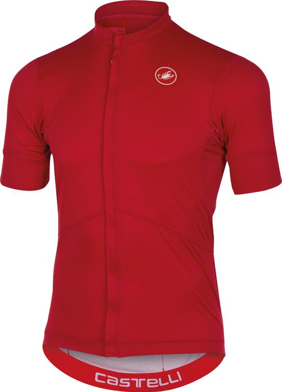 Castelli Imprevisto nano jersey red men 16011-023  16011-023