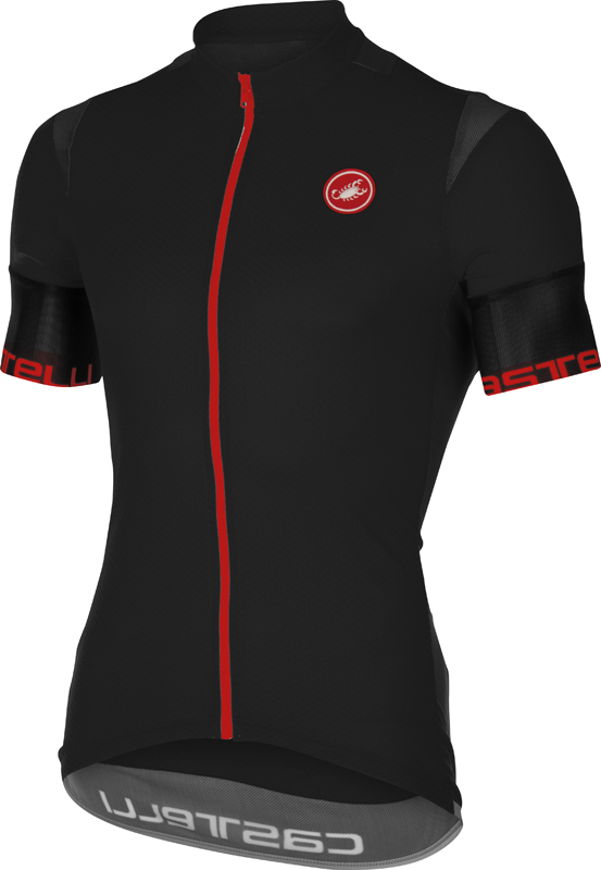 Castelli Entrata 2 jersey black men 16013-010  16013-010
