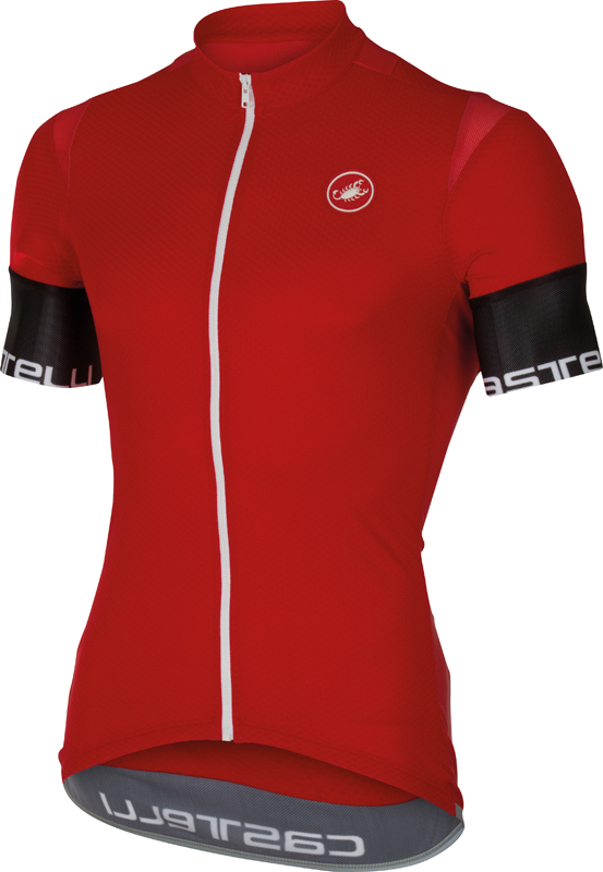 Castelli Entrata 2 jersey red men 16013-023  16013-023