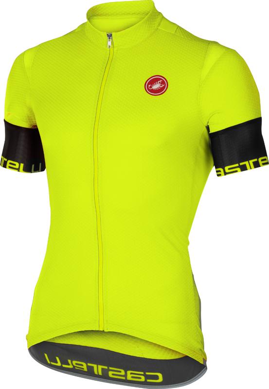 Castelli Entrata 2 jersey short sleeve yellow men online  Order Find ... 734870590