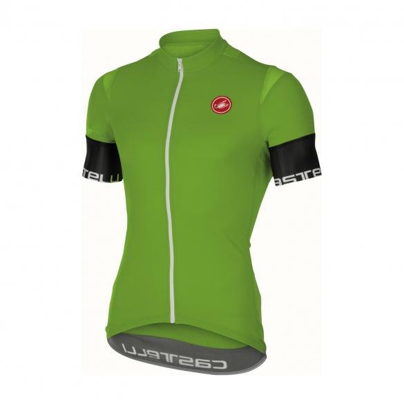 Castelli Entrata 2 jersey green men 16013-038  CA16013-038
