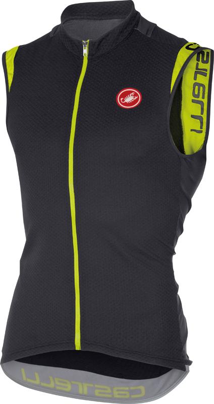 Castelli Entrata 2 sleeveless jersey anthracite men 16014-009  16014-009