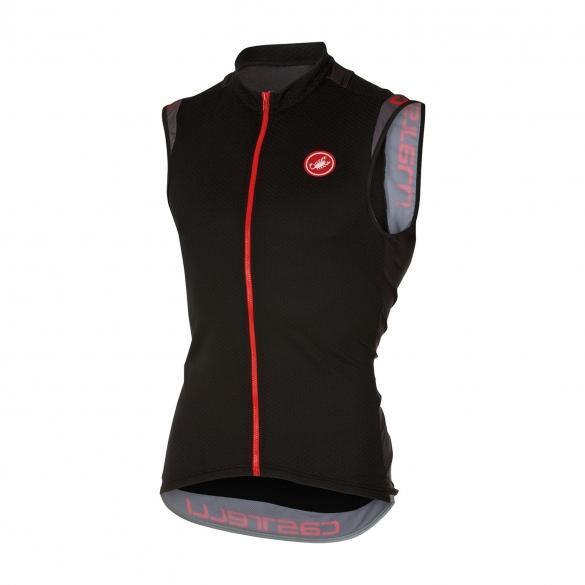 Castelli Entrata 2 sleeveless jersey black men 16014-010  CA16014-010