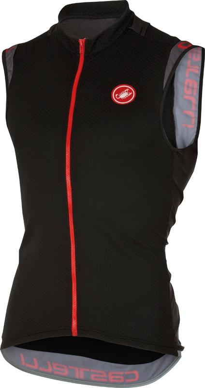 Castelli Entrata 2 sleeveless jersey black men 16014-010  16014-010