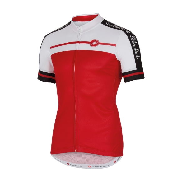 Castelli Velocissimo jersey red men 16015-023  CA16015-023