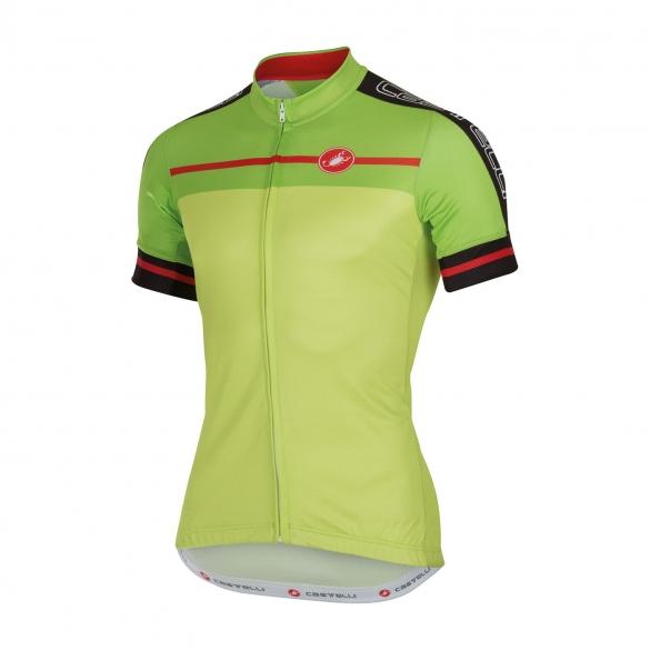Castelli Velocissimo jersey lime men 16015-043  CA16015-043
