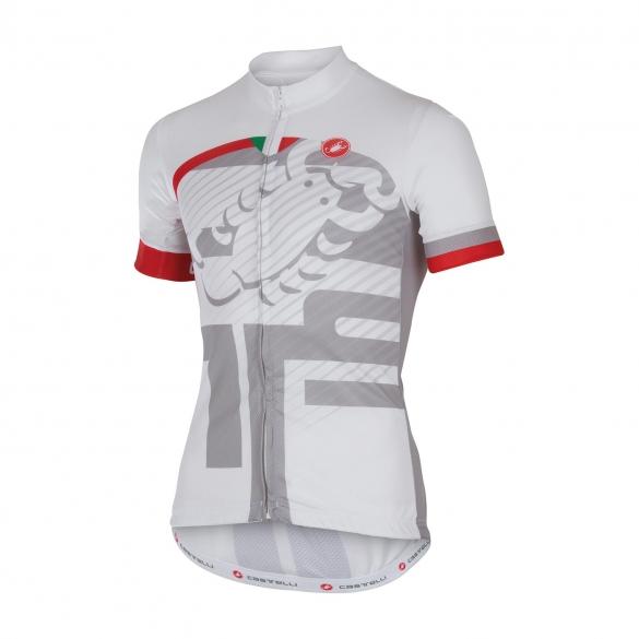 Castelli Veleno jersey white men 16018-001  CA16018-001