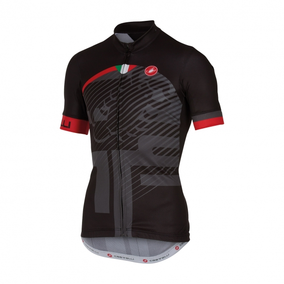Castelli Veleno jersey black men 16018-010  CA16018-010