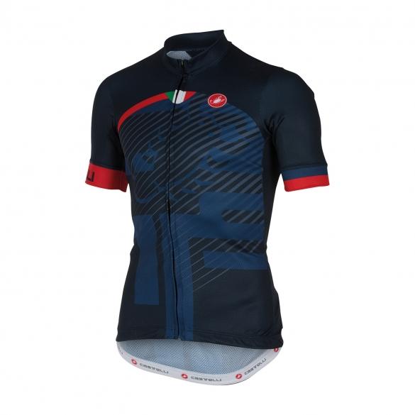 Castelli Veleno jersey blue men 16018-055  16018-055