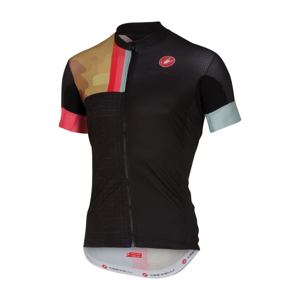 Castelli Rodeo jersey black men 16019-010  CA16019-010