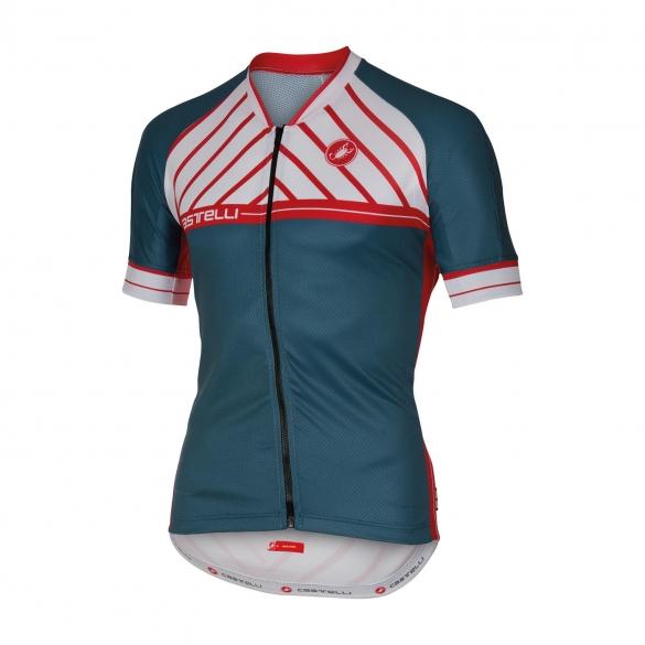 Castelli Scotta jersey turquoise men 16020-076  CA16020-076