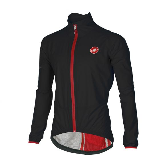 Castelli Riparo rain jacket black men 16050-010  16050-010